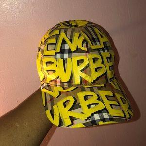 Burberry baseball hat